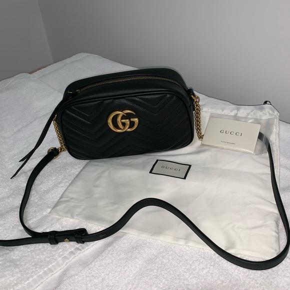 f17804d46e20 Gucci Bags | Marmont Matelasse Belt Bag | Poshmark